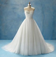 How many times are you allowed to get married before it's tacky? Because I'm having a hard time picking one dress. The Princess Cinderella gown is so beautiful!