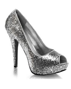 ac7271ce0785 Pleaser Shoes TEEZE-06G -  72.95 - 5 3 4 Inch Stiletto Heel Glitter