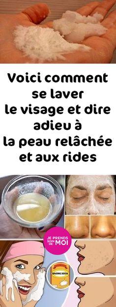 Voici comment se laver le visage et dire adieu à la peau relâchée et aux rides