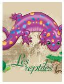 Programmation sur le thème des reptiles avec des activités éducatives; jeux, bricolages, coloriages, histoires, comptines, chansons, fiches d'activités imprimables