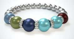 Design a Mothers Bracelet in 3 easy steps. Choose from 12 birthstone colors. Just $29.95!