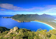 L'île de Tasmanie, en Australie