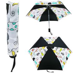WonderFunder: Cat's Meow Umbrella. ~  For a limited time, for every umbrella purchased, $5.00 will be donated to fund cat condos for shelters!