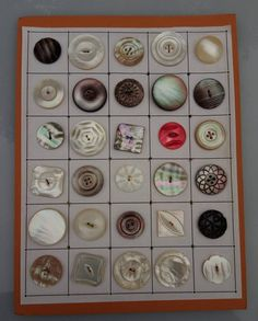 Buttons and material ect. Button Cards, Button Button, Buttons For Sale, Types Of Buttons, Mother Of Pearl Buttons, Vintage Buttons, Vintage Sewing, Fancy, Etsy Shop