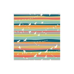 Tissu Jersey Flight Stripe x 31 cm - Ma Petite Mercerie