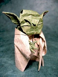 Origami Yoda...May the fold be with you! geeky-at-heart