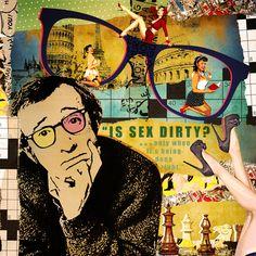 Woody Allen - Pop Art Collage
