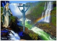 """Kruisverheffing:""""De Boom van ons Eeuwig Heil, het KRUIS van Christus.God verheft in ons hart het Kruis als Teken van de overwinning over de duisternis. De ziel die het Kruis van Christus met het VuurLieve zielen, er is geen andere weg naar het Heil dan deze van de bruiloft tussen onze eigen kruisen en het Kruis van Christus, het Teken van de verheerlijking door de beproevingen en dankzij de beproevingen. Laten wij vandaag een eresaluut brengen aan de Boom van ons Eeuwig Heil. Deze Boom is…"""
