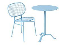 Table bistrot / ronde / d'extérieur / contemporaine MUSTASCH by Broberg &…