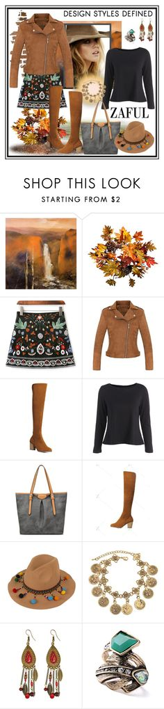 """ZAFUL- win $31 giftcard"" by carola-corana ❤ liked on Polyvore featuring NOVICA, Improvements and zaful"