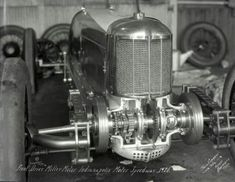 The fabulous Miller front drive. Straight eight dual overhead cam engine made these cars dominant in their era.
