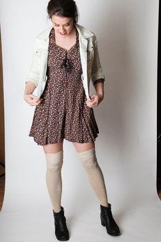 Vintage 90s grunge 90210 floral jumper. $25.00, via Etsy.  When did 90's become VINTAGE???