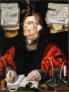 Modern Renaissance 16 - Worth1000 Contests.  A  Renaissance writer