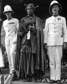 British visit to the Oba, Akenzua II, of Benin in 1938 - The Man Who Reclaimed Photography from Colonialism's Grasp | At the Smithsonian | Smithsonian