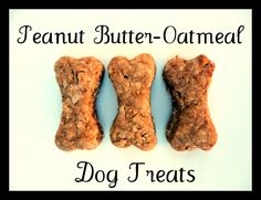 oatmeal peanut butter dog treats just because treats for ALL my adorable furry family paws. Homemade Christmas Treats, Homemade Dog Treats, Healthy Dog Treats, Homemade Oatmeal, Christmas Snacks, Christmas Ideas, Healthy Food, Dog Biscuit Recipes, Dog Treat Recipes