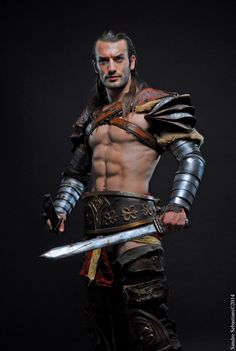 Honor and Glory - Gannicus Cosplay : Spartacus LC by LeonChiroCosplayArt on DeviantArt