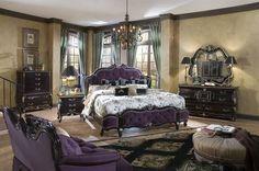Neo-Victorian bedroom set