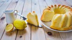 Citronovo-tvarohová bábovka bez mouky