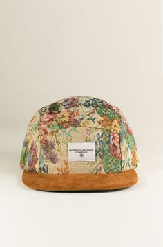 Profound Aesthetic MultiFlora 5 Panel Pattern Hat w Suede Brim : Karmaloop.com - Global Concrete Culture