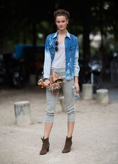 The Front Row View: 15 Models Who Have Quirky or Original Street Style