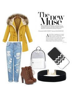 """""""The Come Back."""" by indy-lunow on Polyvore featuring Topshop, Poverty Flats, JustFab, Winter and outfit"""