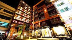 De coze Hotel is a 3-star hotel located in the heart of patong, the hotel are only few minutes few minutes walk from Junceylon Department Store, famous night markets, BanglaRoad nightlife and 15 minute walk to the beach.