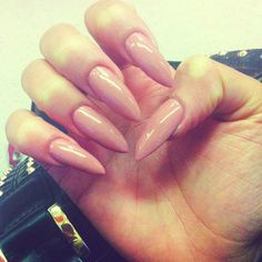 #nude #nails #polished #claws