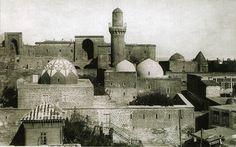 Walled City of Baku with the Shirvanshah's Palace and Maiden Tower, Azerbaijan - 2000