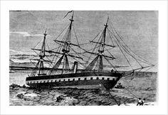 Fragata Petronila perdida