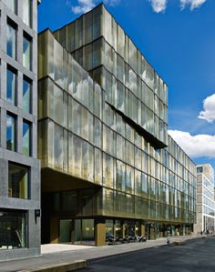 Gigon / Guyer Architekten EUROPAALLEE 21. Lagerstrasse House