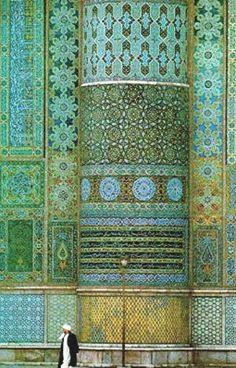 islamic patterns - garden of allah