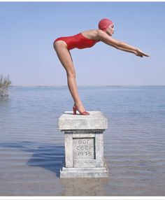 Jerry Hall Norman Parkinson's genius