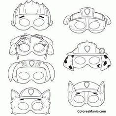 máscaras Patrulha Canina modelo pronto
