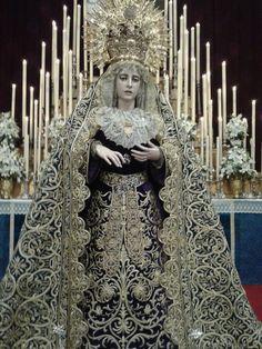 Maria Inmaculada. Cofradia del Silencio Sevilla.