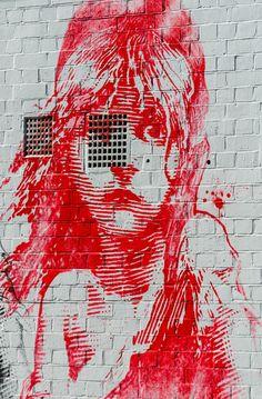 Street Art in London, England