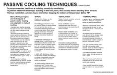 passive cooling   techniques used for a more sustainable coo…   Flickr