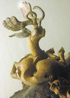 Pazyryk(Scythian) Stag , object's function unknown