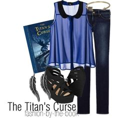 """Percy Jackson and the Olympians: The Titan's Curse by Rick Riordan Find it here """"I can see the stars again."""""""