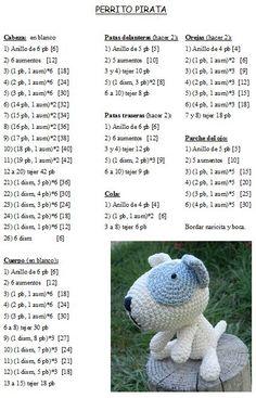 Your Own Adorable Amigurumi Dog Step By Step - Crochet Patterns Amigurumi - Diy Crafts Dog Pattern, Crochet Doll Pattern, Crochet Dolls, Free Pattern, Crochet Patterns, Crochet Gratis, Cute Crochet, Amigurumi Toys, Amigurumi Patterns