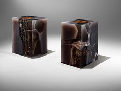 Studio Nucleo Obsidian Side tables