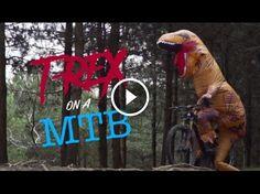 Watch: T-Rex Rides a Mountain Bike https://www.singletracks.com/blog/mtb-videos/watch-t-rex-rides-mountain-bike/