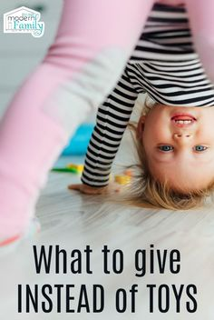 What you can give INSTEAD of TOYS...   Science says instead of giving toys... give gifts that create memories.  Try these.. via @BeckyMans