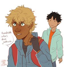 cherryandsisters: i can't believe i'm already drawing magnus chase fanart