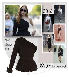 """""""Best Trend of 2016"""" by emavera ❤ liked on Polyvore featuring Jacquemus, Adeam, Jil Sander, Louis Vuitton and Fendi"""