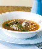 Slavnostní polévka s játrovými knedlíčky