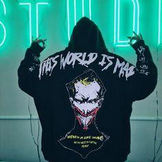 First Joker, Joker Costume, Hooded Sweatshirts, Hoodies, Hip Hop Dance, Hipster, Graphic Sweatshirt, Pullover, Unisex