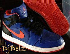 10870b18a2b Air Jordan 1 Mid New York Knicks Sample Sneaker (Detailed Images) Jordan 1  Mid