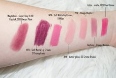 Liebelings Lippenstife, nicht MAC