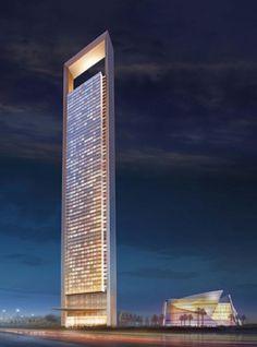 ADNOC Headquarters in Abu Dhabi, United Arab Emirates — 1,122 feet