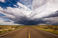 Distant Thunder, Petrified Forest National Park.  (Image made during NPS artist residency at Petrified Forest.)